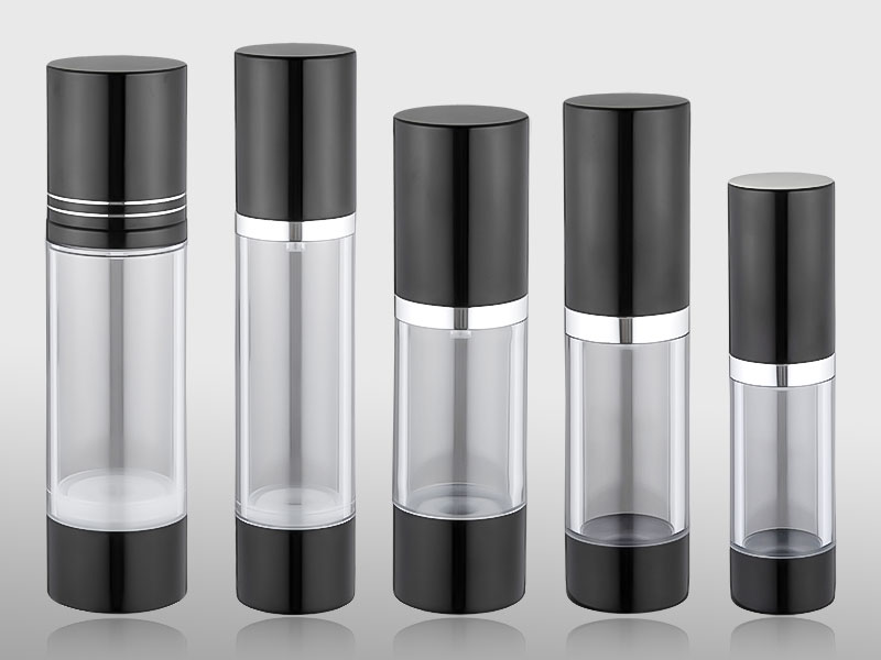Hot sale classical transparent airless bottle
